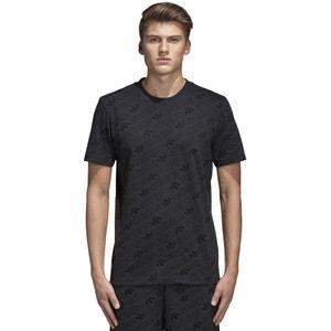 Tee shirt col rond imprimé, manches courtes Adidas originals