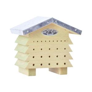 Refuge à abeilles en bois et zinc BEST FOR BIRDS
