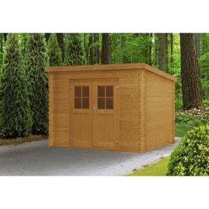 porte pour abri de jardin en bois la redoute. Black Bedroom Furniture Sets. Home Design Ideas