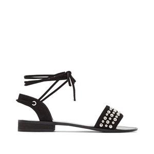 Sandalen met studs, brede voet 38-45 CASTALUNA