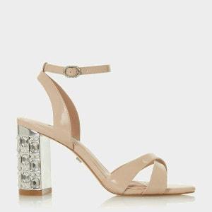 Sandales à talons carrés mi-haut - MILLION