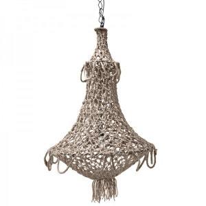Suspension style oriental en corde crochet artisanale HK Living HK LIVING