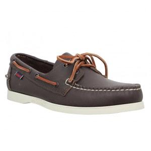 Chaussures bateaux homme SEBAGO Docksides Cuir  Homme Marron SEBAGO