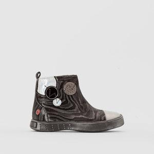 Boots mit Zebraprint Norine GBB