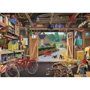 Puzzle 300 pièces : Garage du grand-père RAVENSBURGER