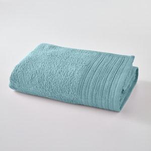 Drap de bain uni éponge coton bio SCENARIO