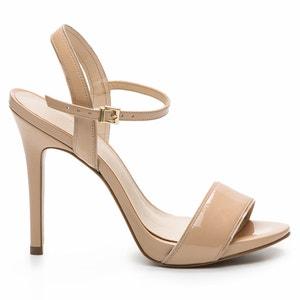 Sandaletten Jadia Ver aus Lackleder mit Pfennigabsatz COSMOPARIS