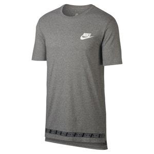 Camiseta lisa con cuello redondo y manga corta NIKE