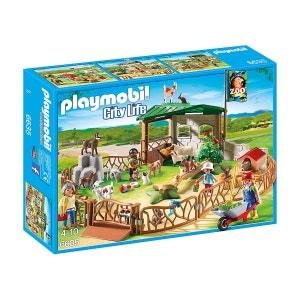 Parc animalier avec visiteurs - PLA6635 PLAYMOBIL