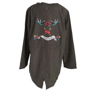 Lolo veste parka avec motif tatouage (grande taille) BRAVE SOUL