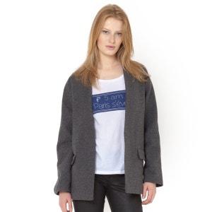 Oversize Batwing Sleeve Jacket SOFT GREY