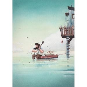 Papiers peints La cabane du pêcheur ACTE DECO