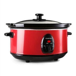 Bristol 35 Slow Cooker Mijoteuse 3,5 Litres 200W - Rouge