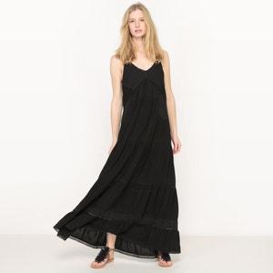 Halter-Neck Maxi Dress SEE U SOON