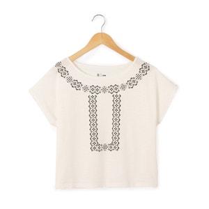 T-shirt sem mangas, gola redonda,10-16 anos R pop