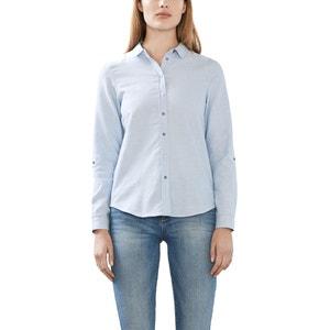 Straight Cotton Blouse ESPRIT