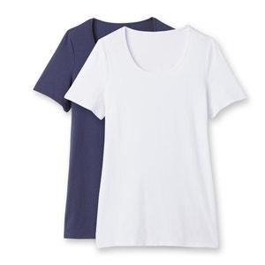Set van 2 T-shirt met korte mouwen CASTALUNA
