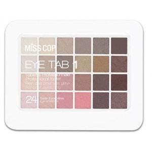 Palette de Maquillage Eye Tab White Miss Cop MISS COP