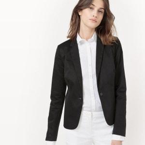 Veste blazer, satin de coton La Redoute Collections