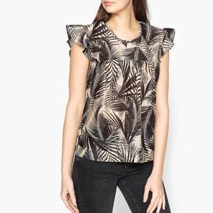 Blusa sem mangas, estampado palmeiras STELLA FOREST