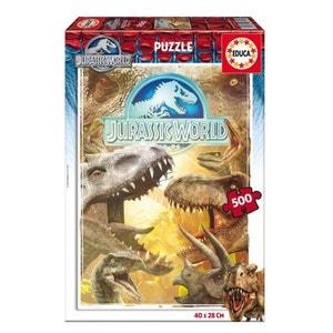 Puzzle 500 pièces : Jurassic World EDUCA