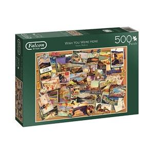 Puzzle 500 pièces Falcon de luxe : Wish You Were Here DISET