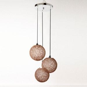 Hanglamp in natuurlijke vezels, Yaku La Redoute Interieurs