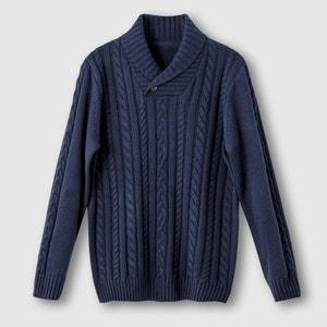 Pullover mit schönem Zopfmuster CASTALUNA FOR MEN