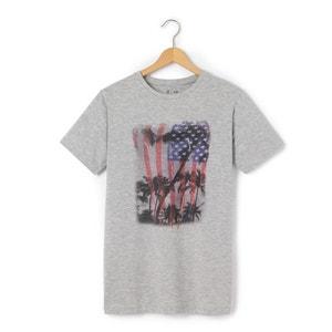 T-shirt 10-16 ans imprimé drapeau US R pop