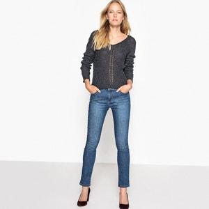 Pullover mit V-Ausschnitt, Feinstrick SEE U SOON