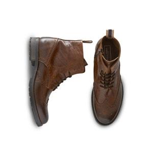 JFWGRANT Leather Boots JACK & JONES