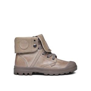 Zapatillas deportivas de piel con caña alta y cordones Palla PALLADIUM