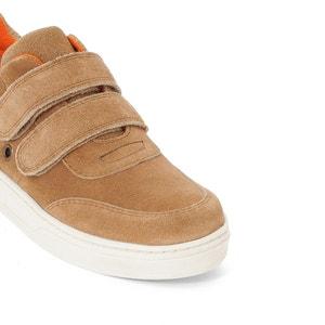 Sneakers met klittenband en verstevigde top La Redoute Collections