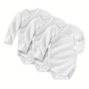 Body para recém-nascido (lotes de 3) 0 mês-3 anos R essentiel