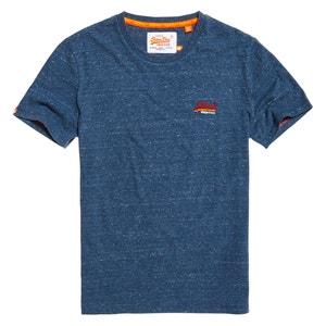 T-Shirt mit rundem Ausschnitt, unifarben SUPERDRY