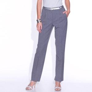 Pantaloni con pinces bi-estensibili, cavallo. 78 cm ANNE WEYBURN