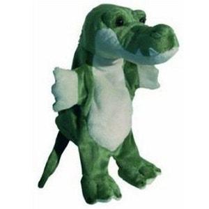 Peluche Marionnette Crocodile AU SYCOMORE