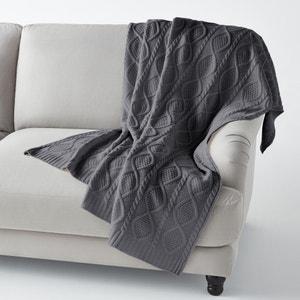 Plaid in maglia AKER La Redoute Interieurs