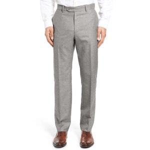 pantalon lin gris homme la redoute. Black Bedroom Furniture Sets. Home Design Ideas