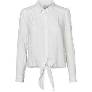Long-Sleeved Shirt with Tie at Waist VERO MODA