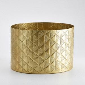 Cubo cubretiestos de metal revestido Erledur La Redoute Interieurs