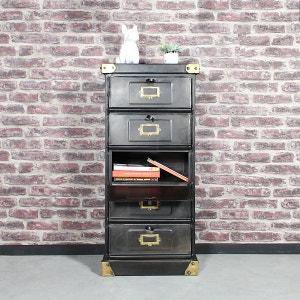 Chiffonnier industriel vintage 5 tiroirs  |  S85 MADE IN MEUBLES