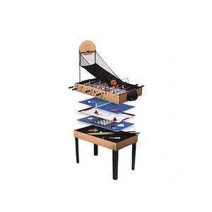 Table Multi Jeux Basket 9 en 1 ARCADE JEUX