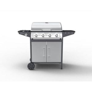 BRANSON - Barbecue à gaz 4 brûleurs, plus brûleur latéral CONCEPT USINE