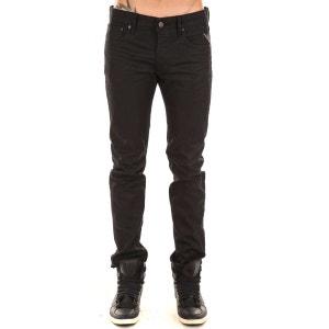Jeans Lenrick Replay Noir Enduit REPLAY