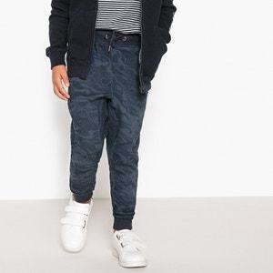 Укороченные брюки с камуфляжным принтом