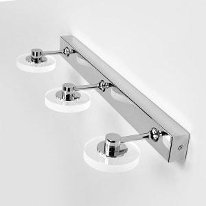 Applique salle de bains LED Raphaela, 3 lampes LAMPENWELT