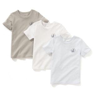 3er-Pack Unterhemden, 2-12 Jahre La Redoute Collections