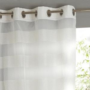 Visillo de rayas finas en la misma gama de tonos La Redoute Interieurs