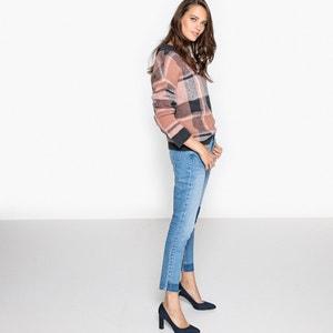 Slim-Jeans mit Applikation La Redoute Collections